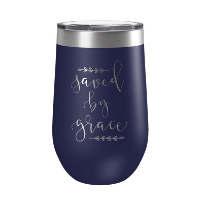 Saved By Grace 16oz Insulated Tumbler