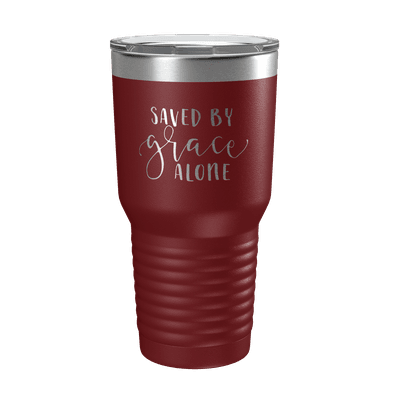 Saved By Grace Alone 30oz Insulated Tumbler