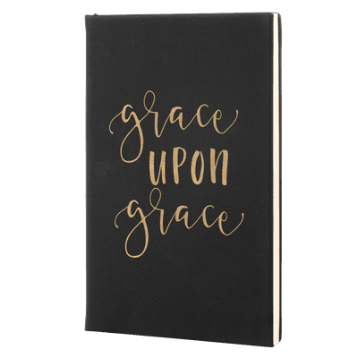Grace Upon Grace Leatherette Hardcover Journal