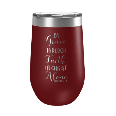 By Grace Through Faith 16oz Insulated Tumbler