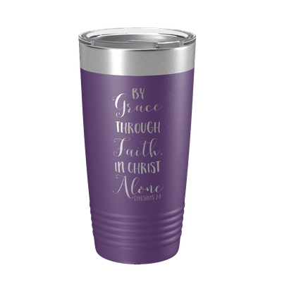 By Grace Through Faith 20oz Insulated Tumbler