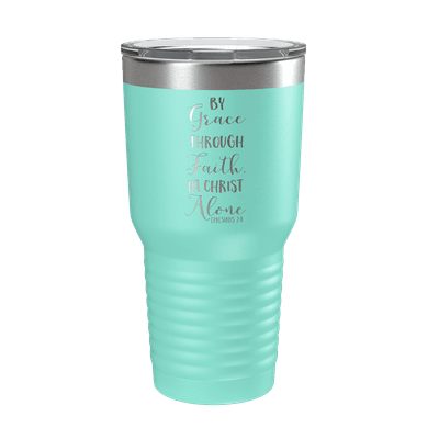 By Grace Through Faith 30oz Insulated Tumbler