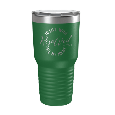 Resolved To Live 30oz Insulated Tumbler