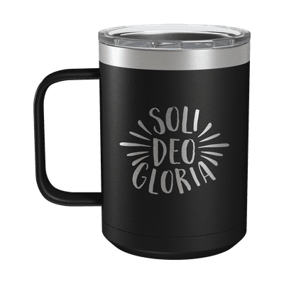 Soli Deo Gloria 15oz Insulated Camp Mug