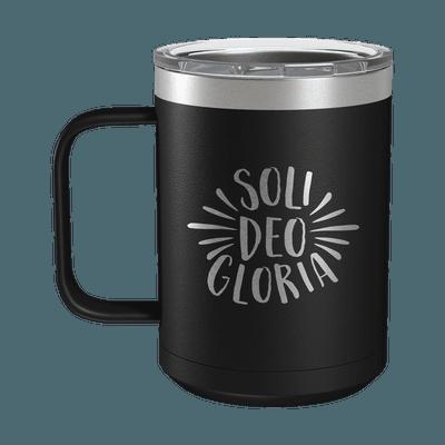 Soli Deo Gloria 15oz Insulated Camp Mug