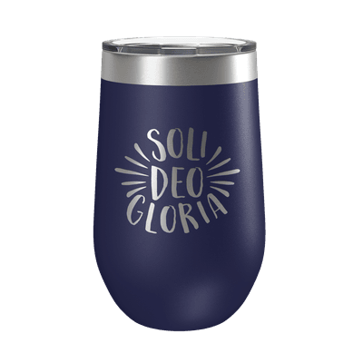 Soli Deo Gloria 16oz Insulated Tumbler