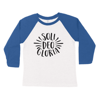 Soli Deo Gloria Youth Raglan Tee