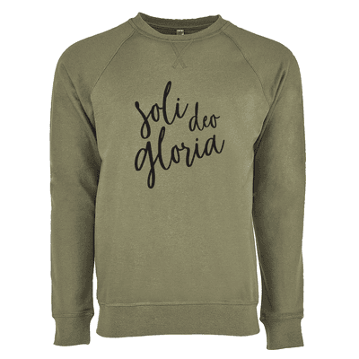Soli Deo Gloria Ladies French Terry Crew