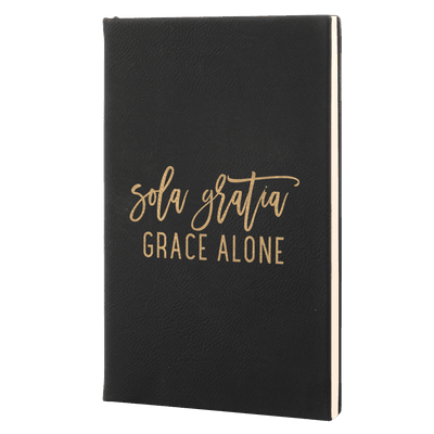 Sola Gratia - Fidelis Series Leatherette Hardcover Journal