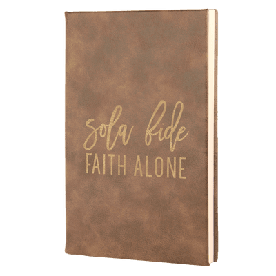 Sola Fide - Fidelis Series Leatherette Hardcover Journal