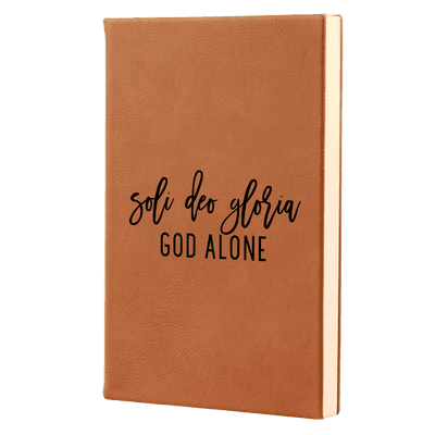 Soli Deo Gloria - Fidelis Series Leatherette Hardcover Journal
