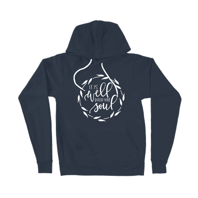 It Is Well With My Soul - Ladies Hoodie