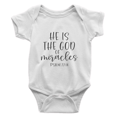 He Is The God Of Miracles Kids