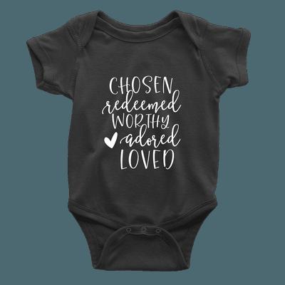 Chosen Redeemed Worthy Kids