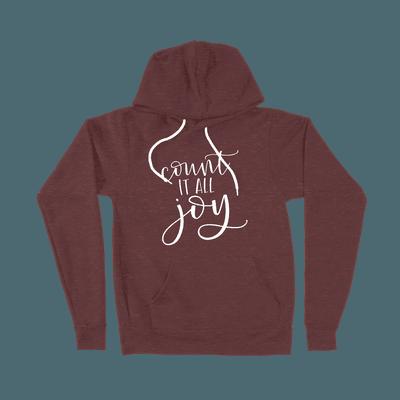 Count It All Joy - Ladies Hoodie