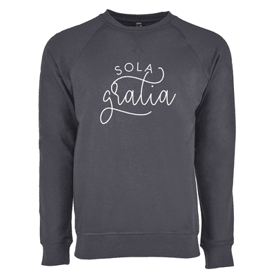 Sola Gratia Monoline Ladies French Terry Crew