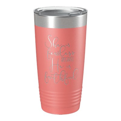She Is Fearless 20oz Insulated Tumbler