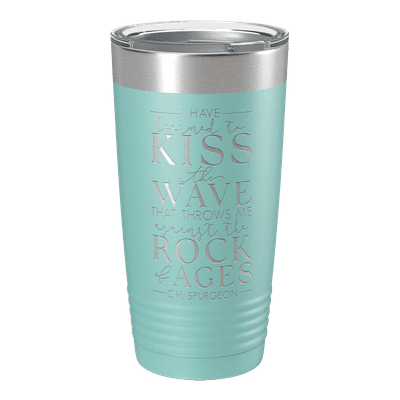 Learned to Kiss The Wave 20oz Insulated Tumbler