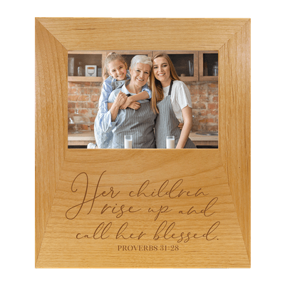 Her Children Rise Up Frame