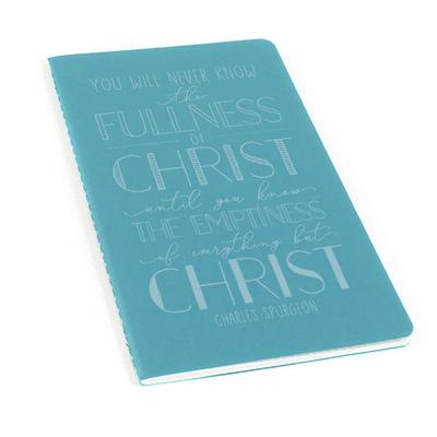 The Fullness Of Christ Laser Etched Moleskine Journal
