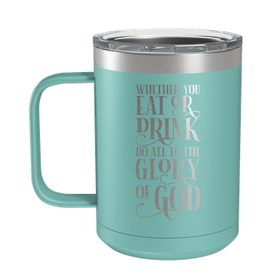 Eat or Drink 15oz Insulated Camp Mug