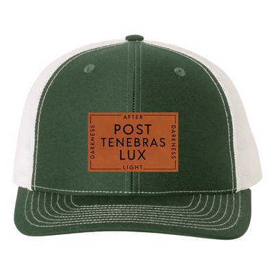 Post Tenebras Lux (Patch) Trucker Hat