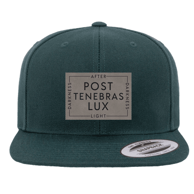 Post Tenebras Lux Patch Snapback Hat