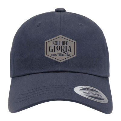 Soli Deo Gloria Patch Dad Hat
