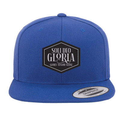 Soli Deo Gloria Patch Snapback Hat