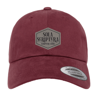 Sola Scriptura Patch Dad Hat