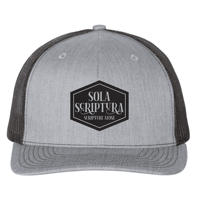 Sola Scriptura (Patch) Trucker Hat