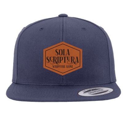 Sola Scriptura Patch Snapback Hat
