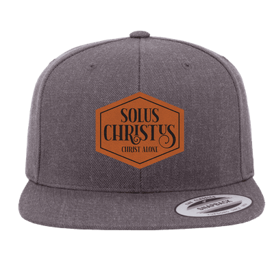 Solus Christus Patch Snapback Hat