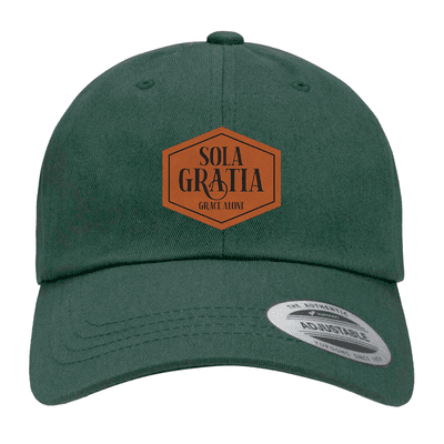 Sola Gratia Patch Dad Hat