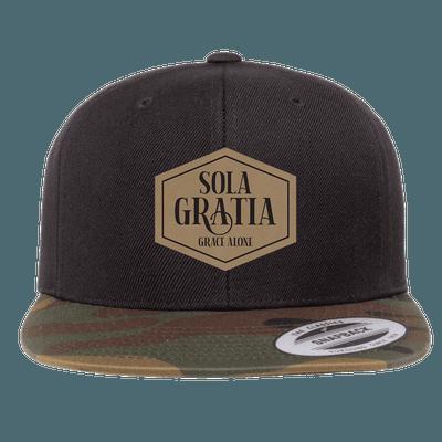 Sola Gratia Patch Snapback Hat