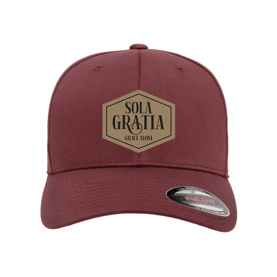 Sola Gratia Patch Fitted Hat