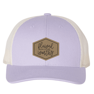 Flawed and Still Worthy (Patch) Trucker Hat