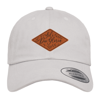 Soli Deo Gloria Floral Patch Hat