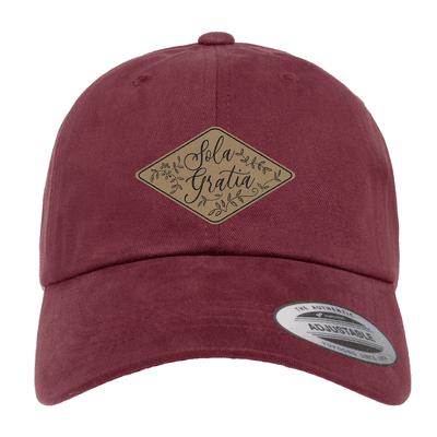 Sola Gratia Floral Patch Hat