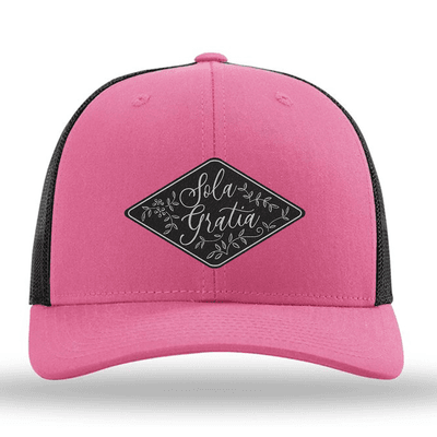 Sola Gratia Floral (Patch) Trucker Hat