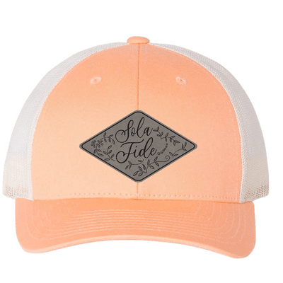 Sola Fide Floral (Patch) Trucker Hat