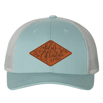 Solus Christus Floral (Patch) Trucker Hat