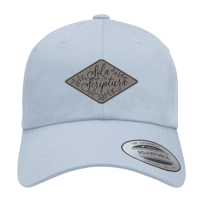 Sola Scriptura Floral Patch Hat