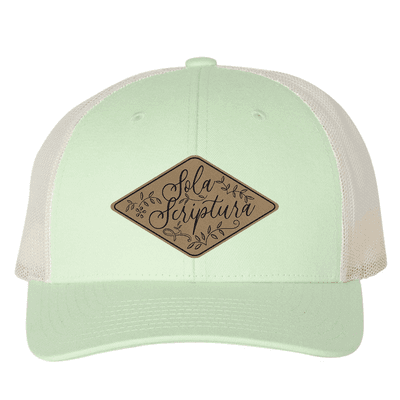 Sola Scriptura Floral (Patch) Trucker Hat