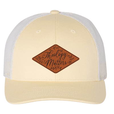 Theology Matters Floral (Patch) Trucker Hat