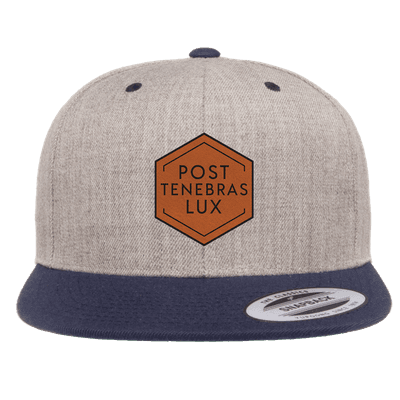 Post Tenebras Lux Diamond Patch Snapback Hat