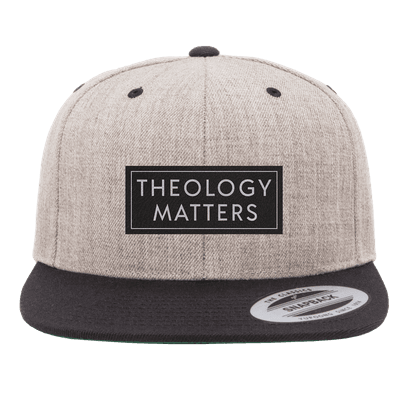Theology Matter Patch Snapback Hat