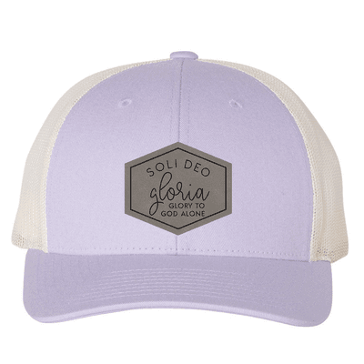 Soli Deo Gloria Hexagon (Patch) Trucker Hat