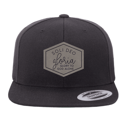Soli Deo Gloria Hexagon Patch Snapback Hat
