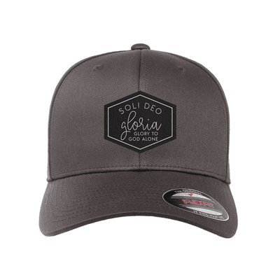 Soli Deo Gloria Diamond Patch Fitted Hat